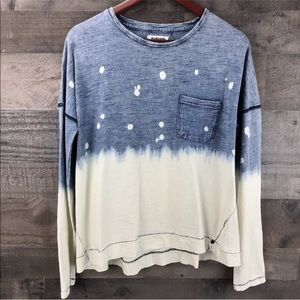 One by one teaspoon long sleeve shirt xs